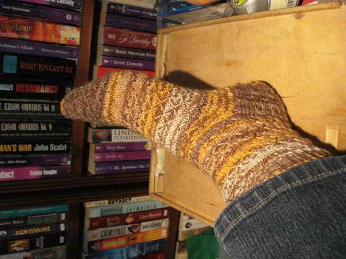 Honeycomb sock 1