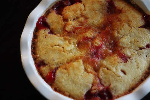 Melissa's Cherry Cobbler {your recipes} | you are what you eat...or ...