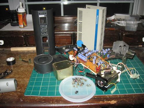Panasonic WV-200 - In pieces