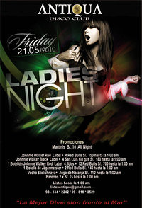 Ladies Night - Antiqua Disco Club