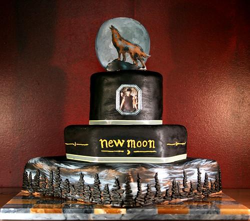 New Moon - Team Jacob Cake