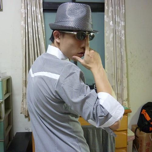 13 戰利品之一,格紋紳士帽