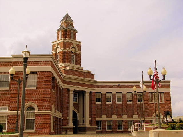 Architecture of Morristown: City Hall