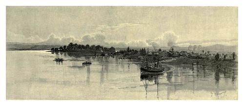 014-El rio Clarence en Grafton Nueva Gales del Sur-Australasia illustrated (1892)- Andrew Garran