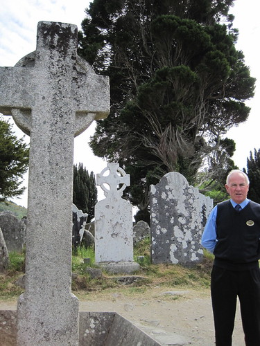 Monastic cemetery at Glendalough