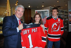 Jeff Vanderbeek presents Mary Pat Christie wit...