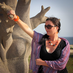 Holding the baobab, like a boss
