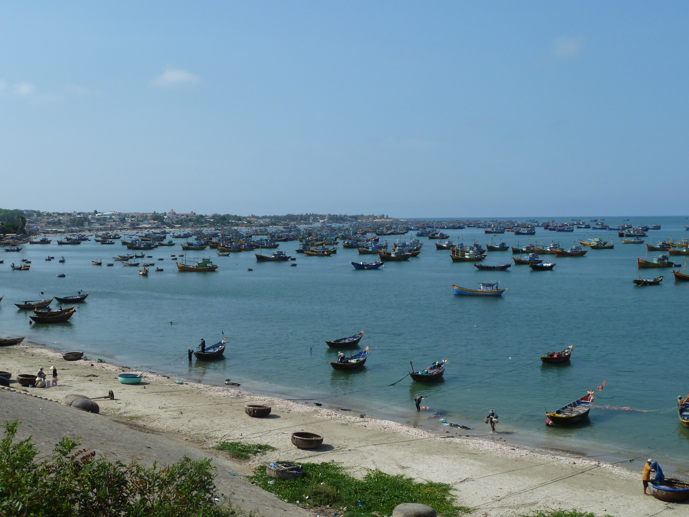 Vietnamese Fishing Village
