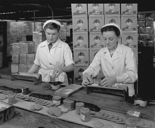 Wright's Biscuit Packing
