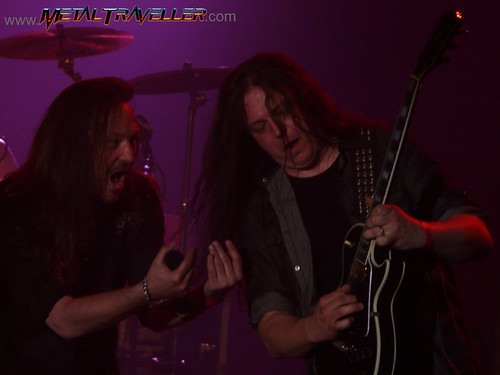 Give me some guitars, Pontus! - Hammerfall live in concert