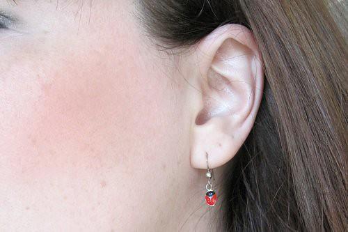 earrings from dad 6.15.11