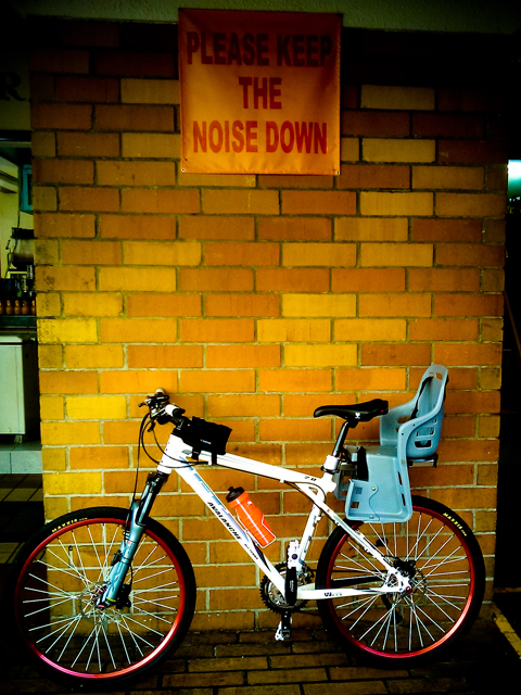 bicycle noise (APAD)