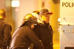 Arrest, Oakland Riots (Thomas Hawk) Tags: california usa america oakland riot unitedstates unitedstatesofamerica protest bart police eastbay riots downtownoakland oaklandpd oaklandpolice bartpolice oscargrant oaklandriot oaklandriot2009 oaklandriots2009 oscargrantriots oaklandriots