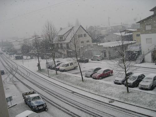 Neve em Barcelinhos