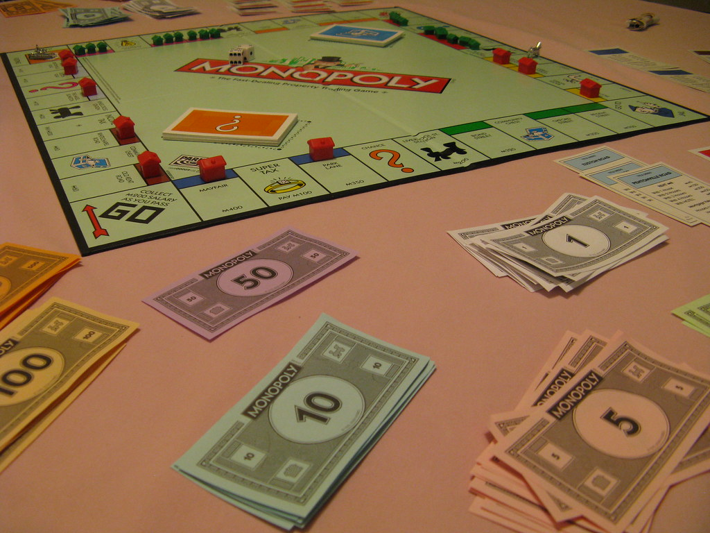 Monopoly by Secret Pilgrim, on Flickr
