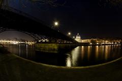 (@-Hau) Tags: paris fisheye explore nuit pontdesarts overtheexcellence ec