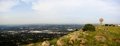 Looking out over Jo'burg