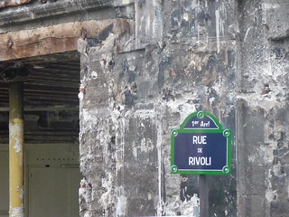 not so swanky view of rivoli