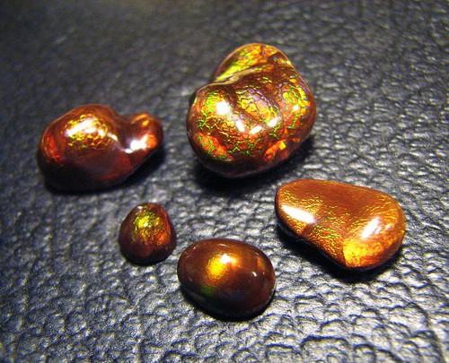 Molten Fire Agate Gems