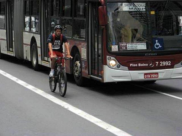 Bicicleta na Paulista