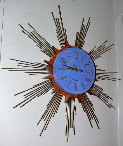 Starburst Clock by LauraMoncur from Flickr