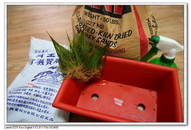 種水上草的配備