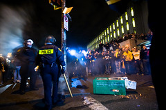 Post Post-Gazette (Ian Norman (Lonely Speck)) Tags: oakland riot pittsburgh rally super bowl celebration win superbowl riots steelers champions burgh xliii superbowl2009 oaklandriot2009 oaklandriots superbowlxliii xxliii