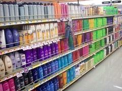 rows and rows of shampoo-which to chose?