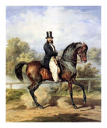 015-Retrato ecuestre de Alejandro Tykla 1864-Juliusz Kossak