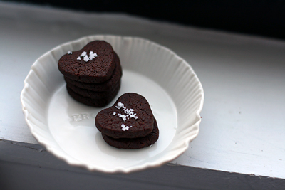 Sea Salt and Cocoa Shortbread