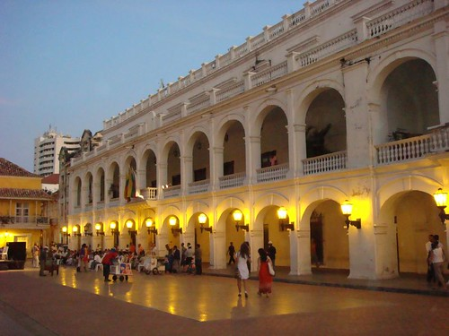 Government building in Cartagena.
