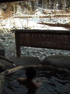 《槍見館》渓流の湯