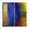 ..     . (Julian E...) Tags: blue abstract color lines k yellow wall design geometry justimagine unbacio artlibre happyvalentineeveryone