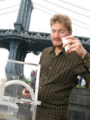 People Who Drank Purified East River Water from the H2O Collective