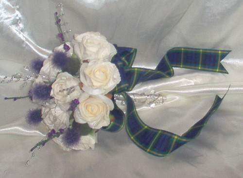 """tina 9"" 1 of 3 bridesmaids posies by you."