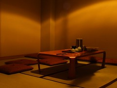 Late dinner (Litji) Tags: japan kyoto ryokan japanesetable warmplace
