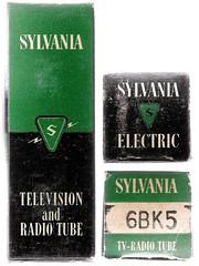 Tubes - Sylvania Television and Radio Tube (waytoocrowded) Tags: tubes sylvania rcatvrepairkit