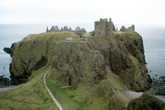 Dunnottar Castle from West