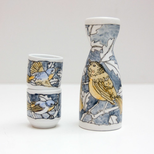 Redstarts sake set
