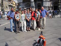 Gruppenphoto auf dem Markusplatz: Ziel erreicht !