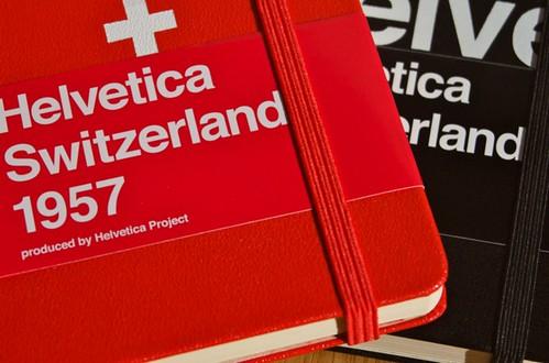 Helvetica + Moleskine