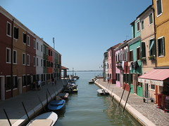 Burano Island (Squirrel C) Tags: houses canal multicoloured burano
