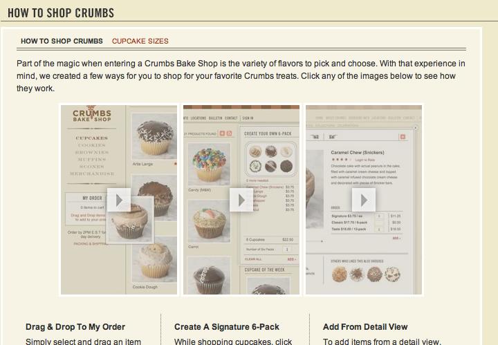 New Crumbs website