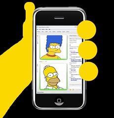 homer iphone (bltn39) Tags: desktop thesimpsons msn wallpapers homersimpson iphone msnmessenger margesimpson appleiphonepicnik