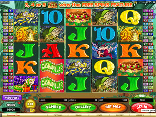 Cashapillar slot game online review