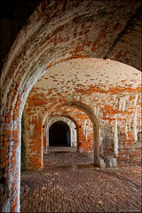 Fort Morgan Underground (Rob Shenk) Tags: brick history architecture fort alabama civilwar morgan mobilebay fortmorgan