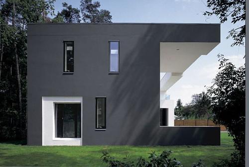 Meixner Exterior House Design Idea, Modern Exterior Design, Exterior Design