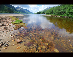 Loch Sheil (Nurmanman) Tags: trees river scotland highlands hill loch glenfinnan roadtotheisles lochsheil goldstaraward inspiredbyyourbeauty