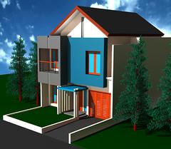 Desain Rumah Minimalis di Citra Grand by Indograha Arsitama Desain  & Build