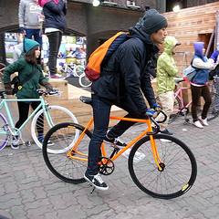 matching bag (superlocal) Tags: up bicycle speed gear korea pop nike photoblog seoul nsw fixed fixie photolog seul hongdae icn séoul 汉城 弘益大学 superlocal r0087159jpg